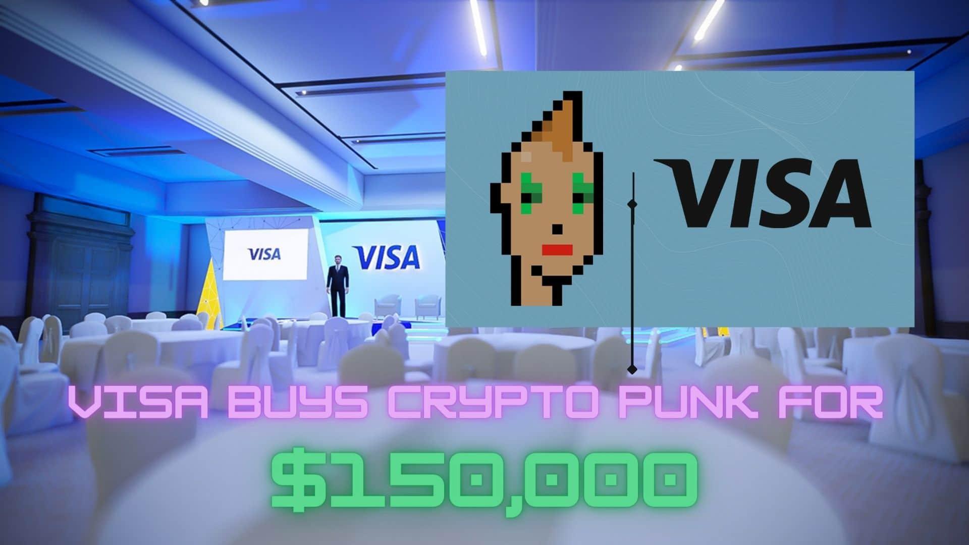 Visa Buys CryptoPunk