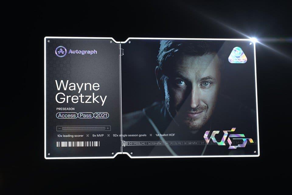 Wayne Gretzky's First NFT